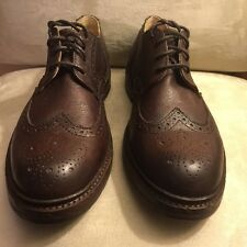 men's frye jamie wingtip oxfords style 84590 Brown, Leather, US size10.5D