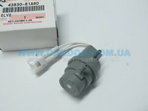 NEW Genuine Suzuki JIMNY 4x4 4WD Front Wheel Hub Vacuum SWITCH 43830-78R00