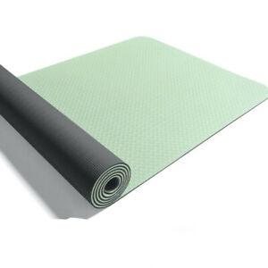 183cm x 61cm Yoga Mat 6mm Gym Fitness Exercise Pilates Workout Mat Non-Slip