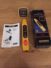 Martindale FD550 Elite Fuse Finder Kit. Electrician Electrical Tester Sockets