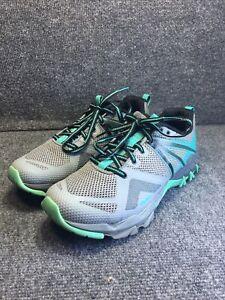 Merrell MQM Flex Women's Monument Hiking Shoe J05514 Size 8 Green Gray R50