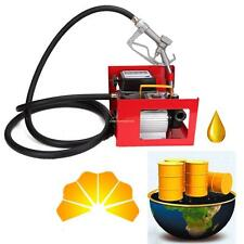 Dieselpumpe selbstansaugend 500W 60L/min Heizölpumpe Umfüllpumpe Absaugpumpe