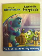 READ TO ME STORYBOOK & CD - MONSTERS INC.