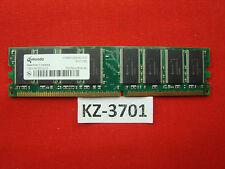 1 Gb ram DDR PC-2700U Non-ECC 'Infineon hys64d128320hu-6-b' #kz-3701
