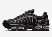 NIKE AIR MAX TAILWIND IV MEN SIZE 8.0 BLACK SILVER NEW SUPER RARE COMFORTABLE