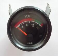 Volt Meter gauge instrument VDO original vintage AUDI & VW VOLKSWAGEN amps dash