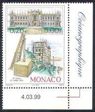 Briefmarken mit Bauwerke Thema aus Monaco
