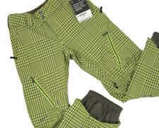 NEW! $370 Burton Mens AK 2L Stagger Snowboard Pants!  XS  *Radiator Gingham*