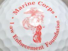 (1) Marines Marine Corps Law Enforcement Foundation Logo Golf Ball