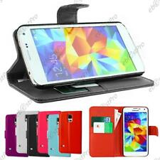 ebestStar Etui Housse Portefeuille Samsung Galaxy S5 S5 mini S4 S3 +VERRE Trempé