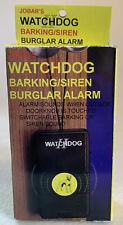 Jobar's Vintage WATCHDOG II (2) Burglar Alarm Hang On Doorknob Dorm House Safety