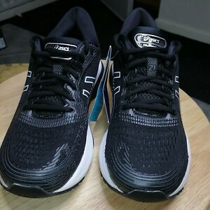Ladies Uk7 /40.5 ASICS Nimbus Gel 21 Black Running Shoes