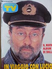 TV Sorrisi e Canzoni n°2 1994 Speciale Lucio Dalla con testi canzoni [D5]