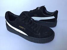 Womens Puma Rihanna Shoes Sneakers Sz 8 NICE! FAST SHIP Black White
