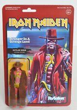 """Iron Maiden STRANGER IN A STRANGE LAND Super 7 ReAction 3.75"""" Figure NEW Eddie"""