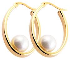 Mode-Ohrschmuck aus Edelstahl mit Hakenverschluss-Perlen