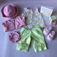 American Girl Bitty Baby Doll Fresh Flowers Outfit Retired