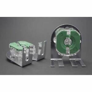 Ersatz Fassung Röhrenfassung Stahlwinkel Leuchtstoffröhren Lampe T8 / G13