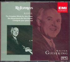 RAVEL - Complete Piano Music / Gaspard De La Nuit - Walter GIESEKING - EMI 2CDs