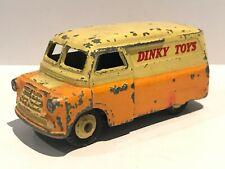 🚛 Vintage & Authentic DINKY TOYS BEDFORD VAN No 482 Original Toy Corgi Matchbox