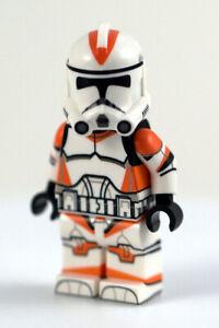 NEW Custom Lego COMET Wolfpack Clone Trooper Minifigure-360° Printed Body