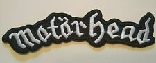 """Motorhead England Embroidered Applique Patch~5 7/8"""" x 1 1/2""""~Iron or Sew On"""