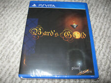 NEW Limited Run Games BARD'S GOLD Playstation Vita PSVita