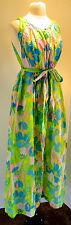 1970 Deadstock New Vintage CHUCK HOWARD Tempo Robe & Nightgown Peignoir Set Med