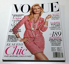 VOGUE MEXICO MAGAZINE ABRIL APRIL 2014 KAROLINA KURKOVA in CHANEL RARE