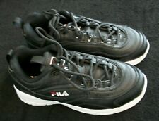New listing Slightly Used! FILA Women's Disarray Fashion Sneakers * Black * Size 6