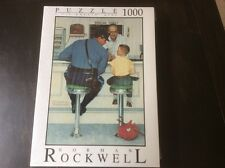 """Fink & Company Norman Rockwell """"The Runaway"""" 1000 Piece Jigsaw 26.75""""x19"""" Puzzle"""