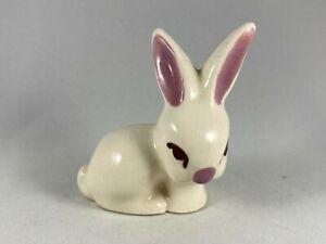 "Vintage Porcelain Classic Easter Bunny Rabbit Figurine Springtime Spring 3"" Tall"