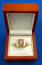 KNIGHTS OF COLUMBUS (K of C) 14K Yellow Gold 4th Degree Size 9.5 Mens Ring 12.5g