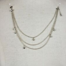 Anklet with Rhinestones 2007 Avon Triple Strand Chain