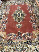 """9'10"""" x 14' Ethan Allen Kirman Design Oriental Rug - 100% Wool - Made in Belgium"""