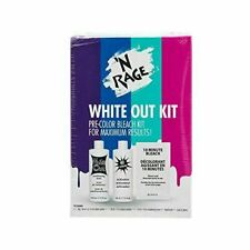 'N Rage Bleach & Toner Kit, White Out Kit Pre Color Hair Bleach Kit