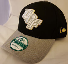 ddfddc5a19f NWT NEW ERA UCF Knights Central Florida 9FORTY black adjustable cap hat NCAA