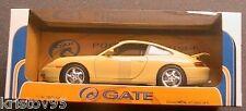 PORSCHE 911 (996) CARRERA COUPE 1997 JAUNE SCALE 1/18 YELLOW 1:18 GERMANY