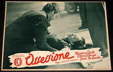 fotobusta originale OSSESSIONE Luchino Visconti M.Girotti Clara Calamai 1943 #05