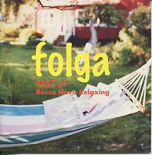 2006 Folga  Best of Bossa Nova BMG Relaxing Japan Import CD Very Rare