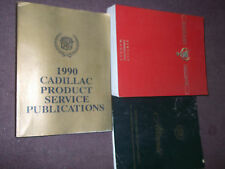 1990 90 Cadillac Allante Service Shop Repair Manual SET W Supplement & Publicati