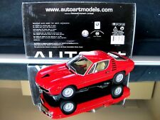 ALFA ROMEO MONTREAL 1970 AUTOart 70171 1/18 TOP Like New Blisterbox with chips