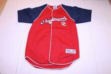 Youth Washington Nationals M (8/10) Embroidered Jersey (Red) True Fan