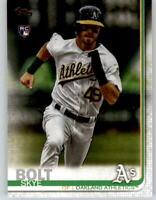 (15) 2019 Topps Update SKYE BOLT 15-Card Base Lot Athletics Rookie #US211