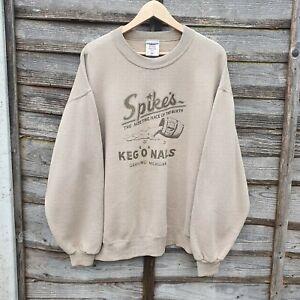 Vintage Biege Brewery Sweatshirt From  Michigan USA