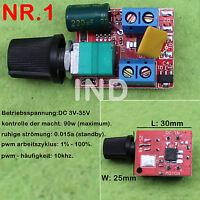 Mini High-Speed PWM LED Dimmer 3V-35V 5A 90w/DC Reguliere 4V-40V To 1.25V-36V 8A