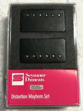 Seymour Duncan Distortion SH-6 Mayhem Powdercoat Matte Black Covers Pickup Set