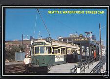 American Transport Postcard - Seattle Waterfront Streetcar  A7854