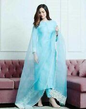 Women Pakistani Designer Dupatta Salwar Kameez Indian Diwali Palazzo Kurta Combo