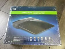 Linksys E1200 300 Mbps 4-Port 10/100 Wireless N Router - see description.